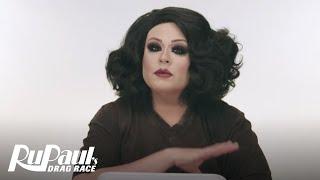ruvealing delta work s smokey eye for fall makeup tutorial   rupaul s drag race   logo