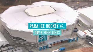 Day 2: Para ice Hockey highlights | PyeongChang2018 Paralympic Winter Games