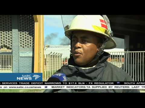 Durban factory fire contained, but not fully extinguished