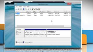 How to create new drive or partition in Windows® 8.1