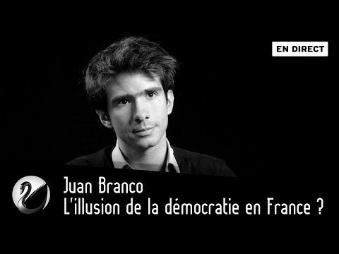 L'illusion de la démocratie en France ? Juan Branco [EN DIRECT]