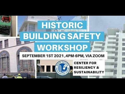 Historic Building Safety Workshop