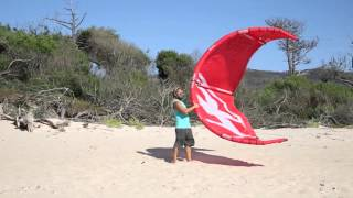 Kitesurfen: Tutorial Starten und Landen / Launching and Landing a Kite | AllYouCanSurf