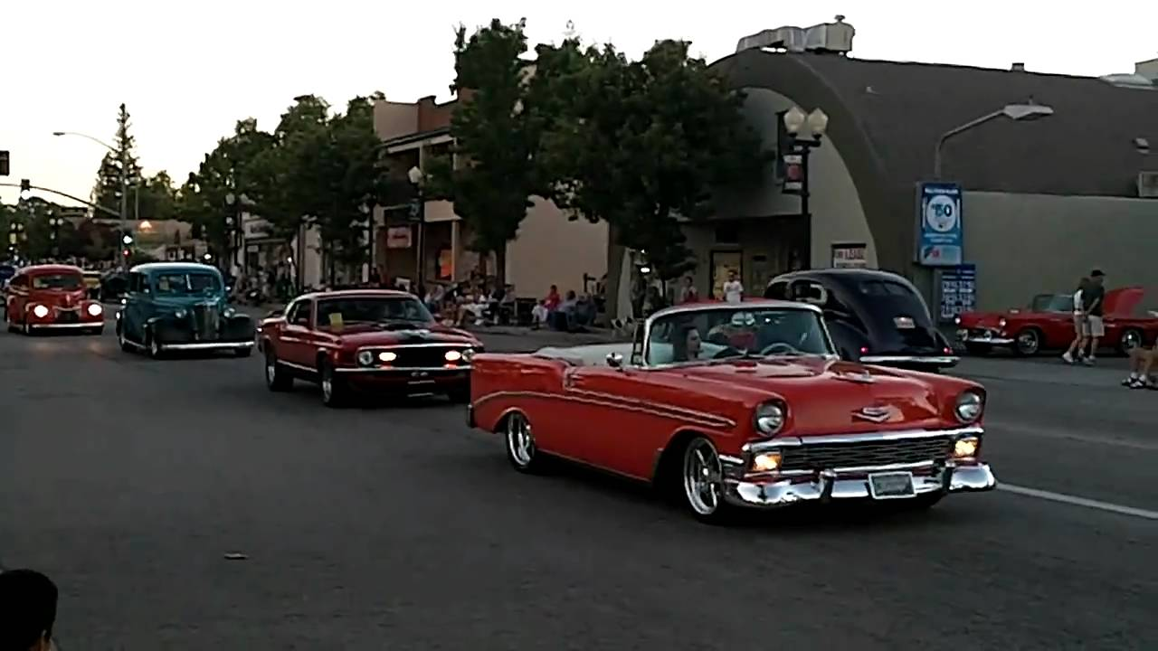 Paso Robles Classic Car Cruise YouTube - Car show paso robles 2018