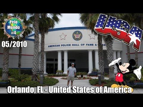 #04 Pelo Mundo Com Angelo Persona & Pri - Police Hall of Fame & Animal Kingdom - (Orlando, FL USA)