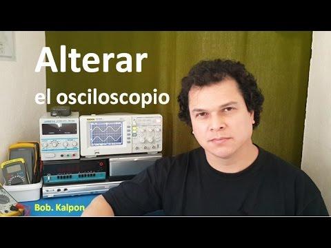 Alterar el osciloscopio si o no - hackear el osciloscopio  en español '- Rigol DS1052E