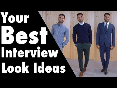 What To Wear To a Job Interview, Ideas on How to Dress For 3 Types of Interviews (Men)
