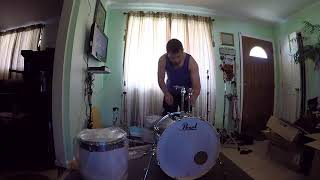 Unboxing/Assembly - Pearl Export EXX (New Fusion) 5-Piece Drum Set with Hardware Smokey Chrome