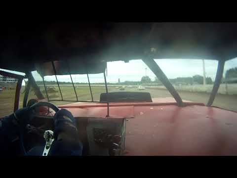 Vintage Racing at North Central Speedway 8/12/2017 Heat Race Ride Along in the #34 Full Body Car