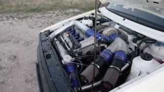 4Motion Golf 2 Vr6 Turbo flames 850PS