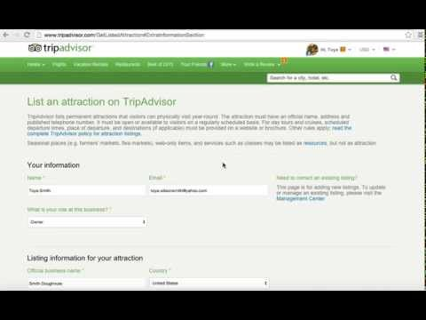 How To Get Listed On TripAdvisor.com
