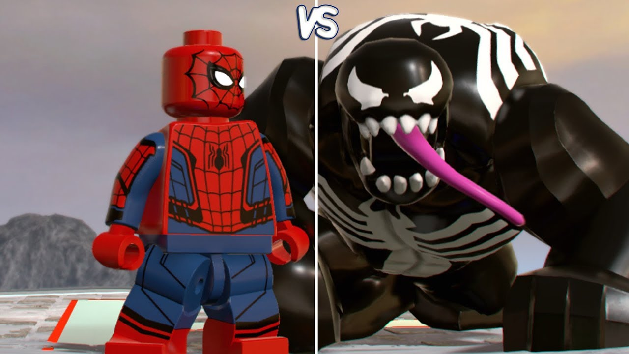 symbiote spiderman lego marvel superheroes 2
