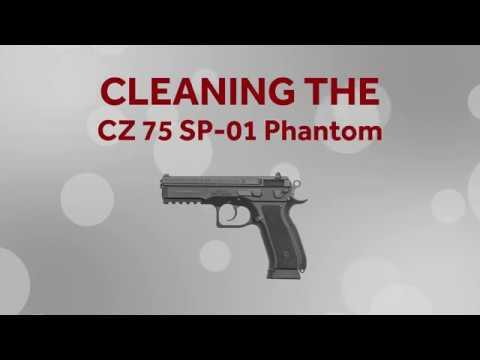Cleaning the CZ 75 SP-01 Phantom - Bill's Gun Shop & Range