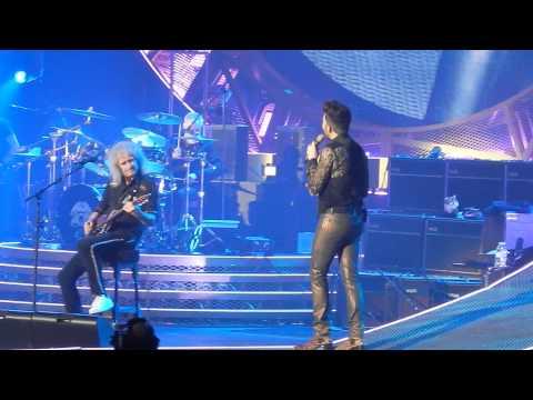 Queen + Adam Lambert - Save Me - O2 Arena Prague 02/17/2015