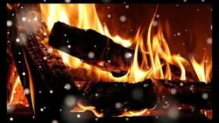 صوت الرياح مع صوت النار في جو بارد ورائع firecamp