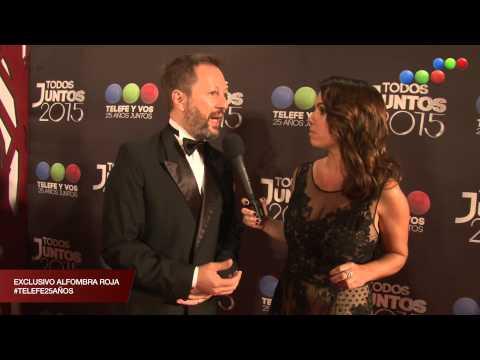 Alfombra Roja, llega Nicolás Scarpino - Todos Juntos 2015