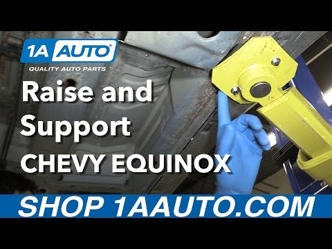Where to Safely Raise and Support Your 2008 Chevy Equinox