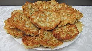 Капустные ОЛАДЬИ на кефире. Вкусные и Нежные оладьи из капусты - Вкусный Уголок