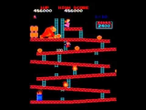 MAME Donkey Kong World Record Dean Saglio 1,206,800