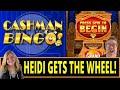 CASHMAN BINGO! Heidi gets her wheel 😻😻