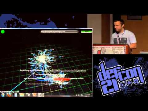 DEFCON21- Web 3.0 Hacking, Website Mapping and Vulnerability Scanning in 3D 2013