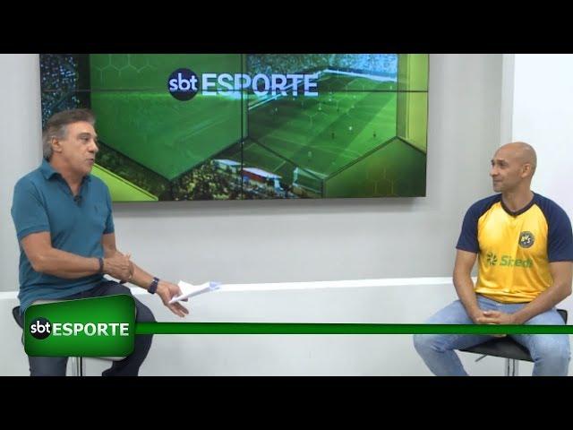 SBT Esporte estreia com participação de Basílio, campeão brasileiro no Santos