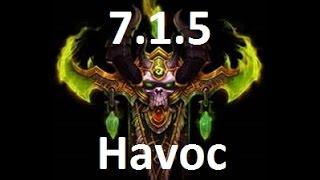 7.1.5 Havoc Demon Hunter Guide-Rotation, Stat Priority, Talent Build