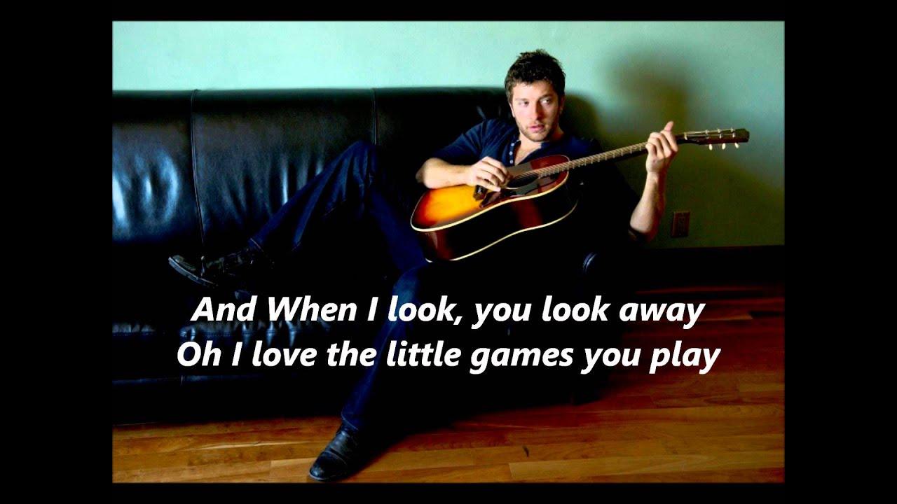 Don't Ya Brett Eldredge lyrics) - YouTube