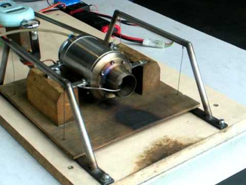 how to build a tiny jet engine