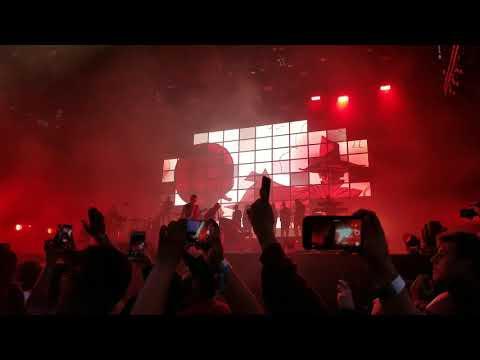 Gorillaz Rhinestone Eyes live at Outside Lands 2017