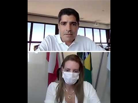 Reunião Virtual | Sheila Lemos e ACM Neto iniciam dialogo para a gestão de Vitória da Conquista