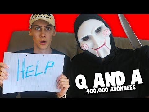 Q AND A MET DE BEDREIGER (400.000 ABONNEES SPECIAL)