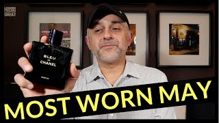 5 Most Worn Fragrances May 2018 | Designer + Niche - Which Fragrances Did You Wear Most In May?