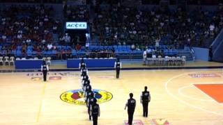 La Salle Greenhills halftime NCAA Finals 2011