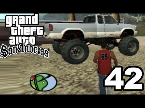 GTA San Andreas | HIDDEN MONSTER TRUCK! #42