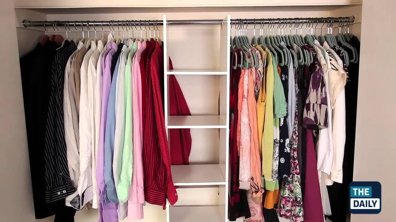 How To Makeover Your Closet On A Budget   YouTube