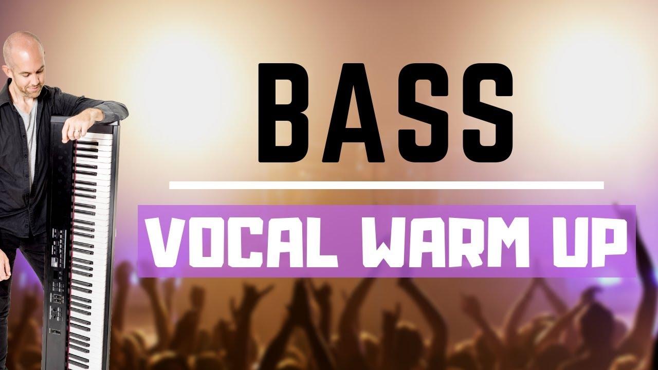 Bass Vocal Warm Up - Full Vocal Range