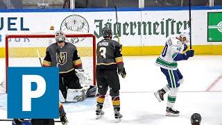 Canucks Hughes, Pettersson recap Game 5 win vs. Vegas Golden Knights | The Province