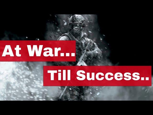 High Energy Motivation | War till Success | Keep Your Energy High | Energetic Motivational Video