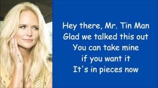 Miranda Lambert Tin Man Lyrics