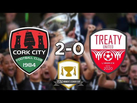 FAI Women's Cup Semi Final: Cork City 2-0 Treaty United