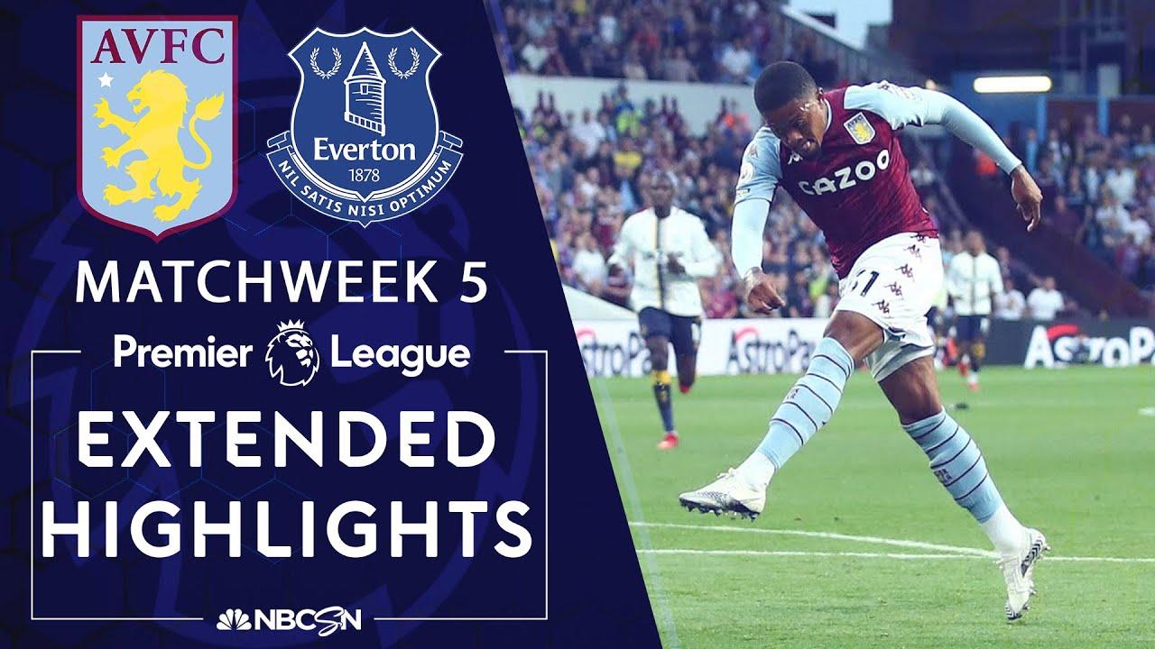 Download Aston Villa v. Everton   PREMIER LEAGUE HIGHLIGHTS   9/18/2021   NBC Sports
