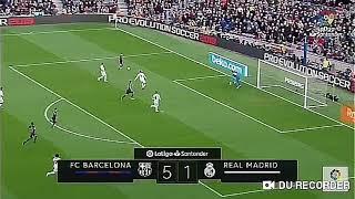 Barcelona vs Real Madrid 5-1