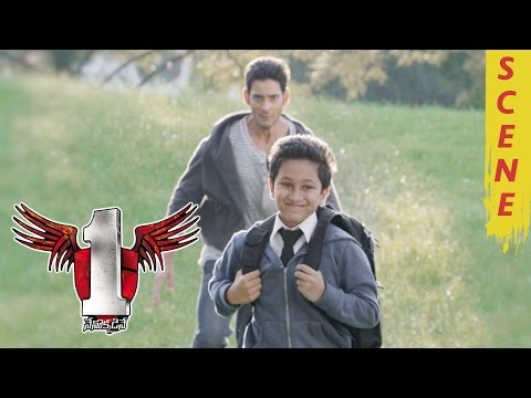 1 Nenokkadine Climax Rhyme Song - Mahesh Babu And His Son Gowtham