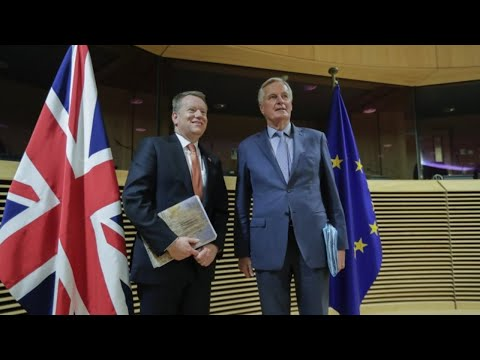 Michel Barnier newser after talks on EU/UK ties with David Frost - as it happened