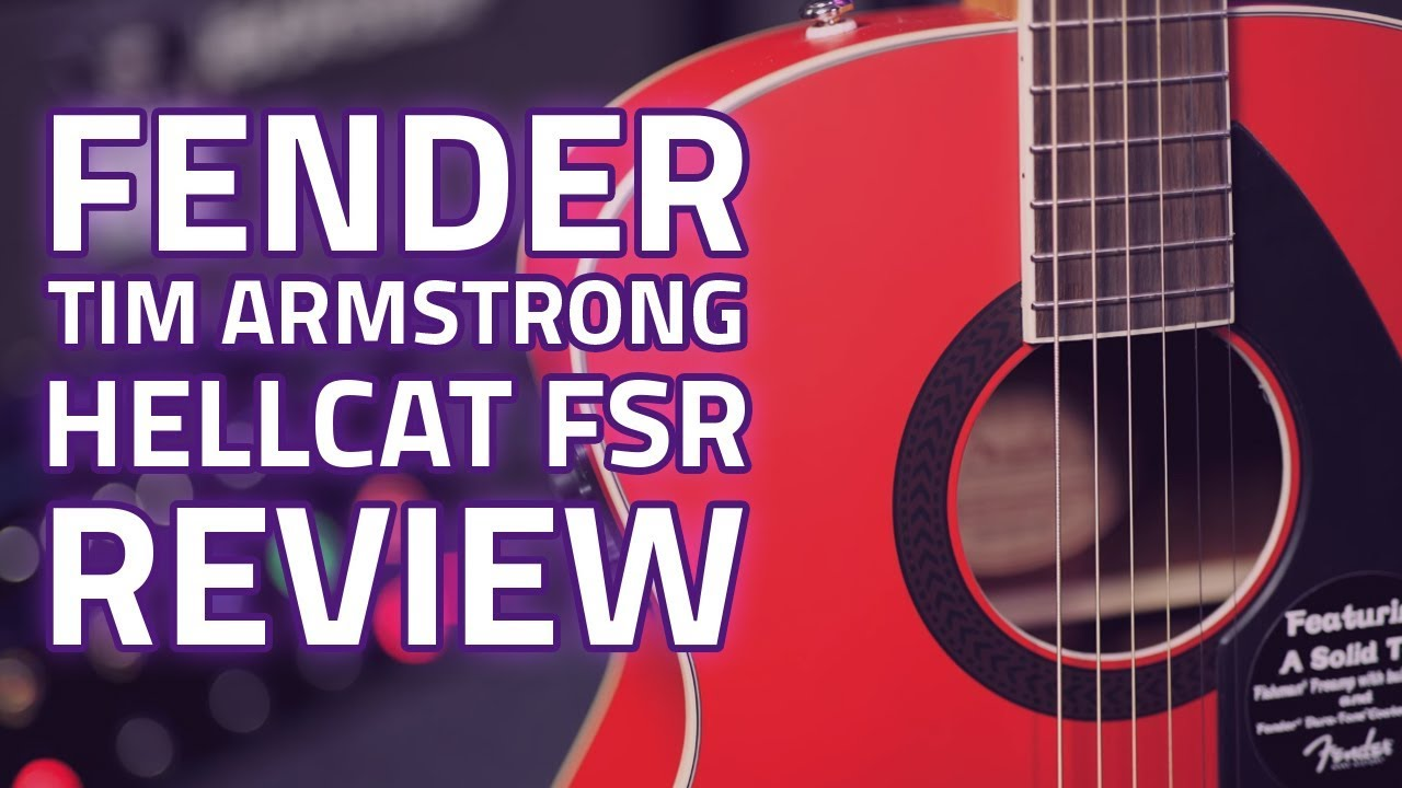 fender tim armstrong hellcat fsr in ruby red demo review youtube. Black Bedroom Furniture Sets. Home Design Ideas