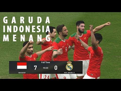 Lilipaly, Egy, Spaso, Evan, Febri = Sempurna | Indonesia vs Real Madrid | PES 2017