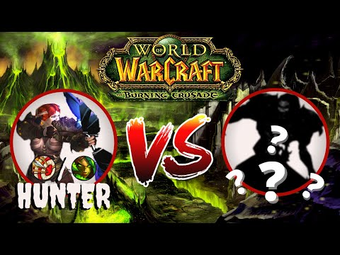 WoW TBC Hunter PvP - 1v1 Duel montage - [2.4.3]