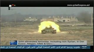 Syria News 18/9/2014, ISIS terrorists killed, huge weapons cache uncovered in Homs