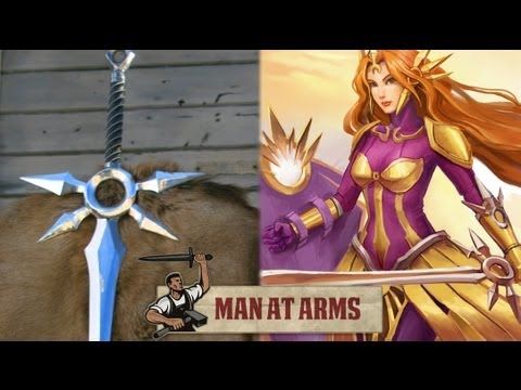 Man at Arms forges League of Legends' Zenith Blade